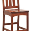 Amish Vintage Mission Bar Chair