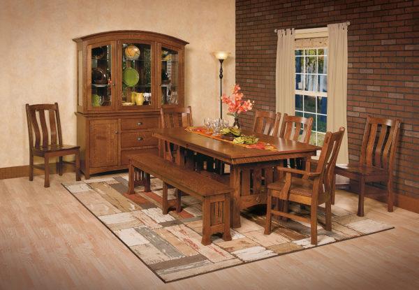 Amish Olde Century Mission Dining Room Set