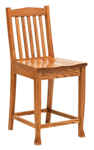 Amish Heritage Stationary Bar Chair