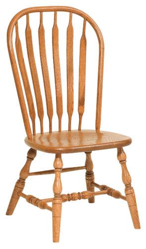 Amish Jumbo Bent Paddle Bow Chair