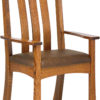 Amish Modesto Dining Arm Chair
