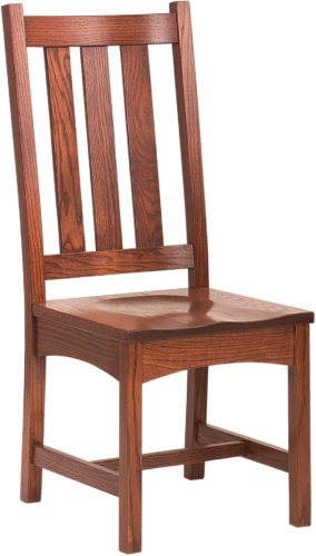 Amish Vintage Mission Side Chair