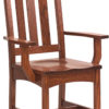 Amish Vintage Mission Dining Arm Chair