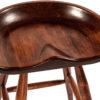 Amish Winslow Deep Scoop Seat Detail