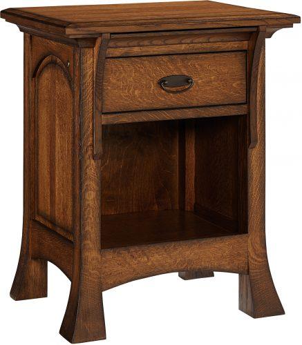 Amish Breckenridge One Drawer Nightstand