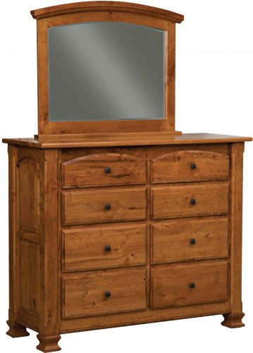 Amish Charleston 8 Drawer Dresser