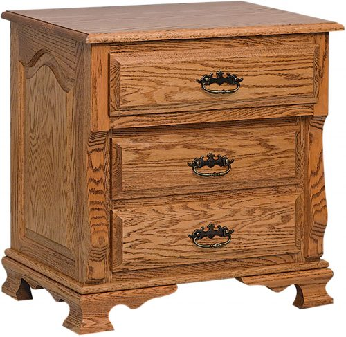 Ordinaire Classic Heritage Hardwood Nightstand
