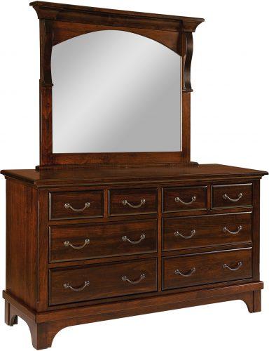 Amish Hamilton Court 8 Drawer Dresser