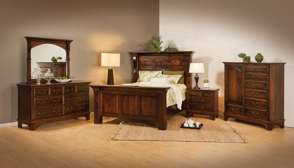 Amish Hamilton Court Bedroom Collection
