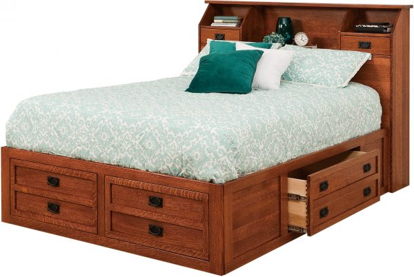 Amish Jacobson Storage Bed