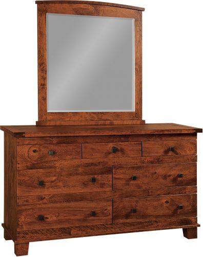 Amish Larado 7 Drawer Dresser