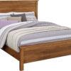 Amish Medina Solid Wood Headboard Bed