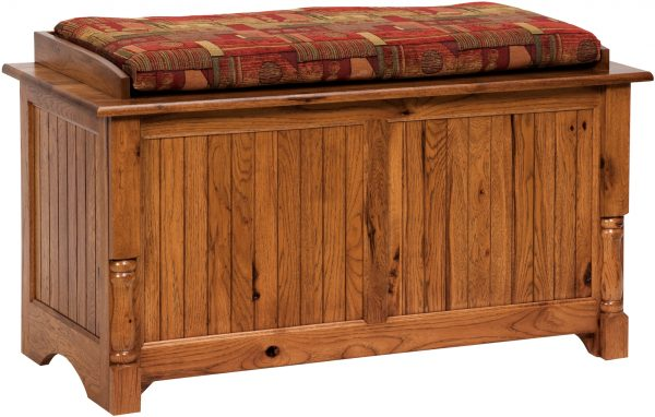 Amish Palisade Blanket Chest