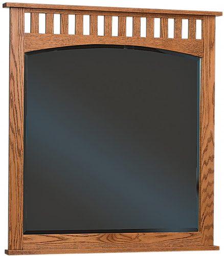 Amish Schwartz Mission Dresser Mirror