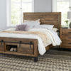 Amish Sonoma Black Base Bedroom Set