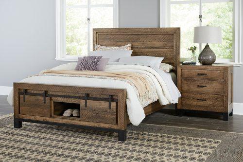 Sonoma Black Base Bedroom Collection
