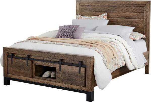 Amish Sonoma Black Base Bed