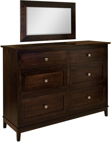 Amish Venice 6 Drawer Dresser