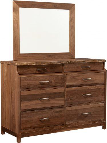 Amish Westmere Walnut Dresser