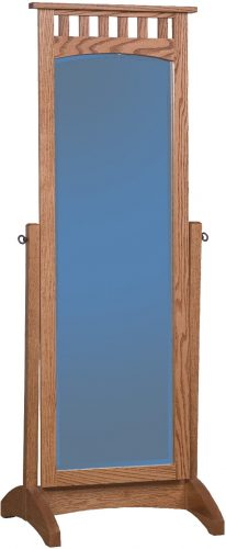 Amish Mission Cheval Mirror