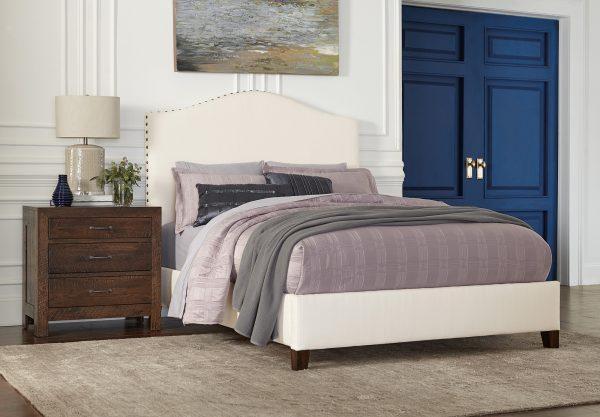 Amish Elliot Fabric Bed