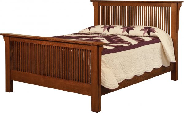 Amish Meadow Mission Bed