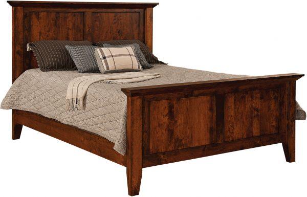 Amish Newport Panel Bed