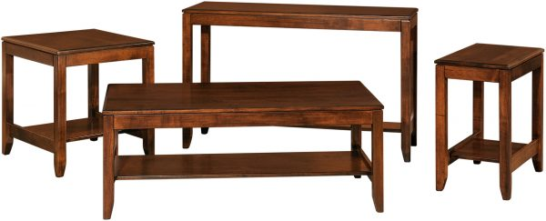 Amish Fairfield Occasional Table Set