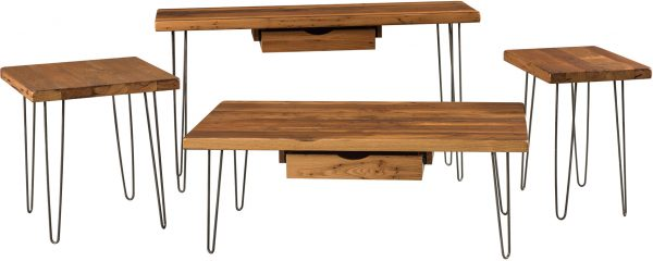 Amish Hyde Occasional Table Set