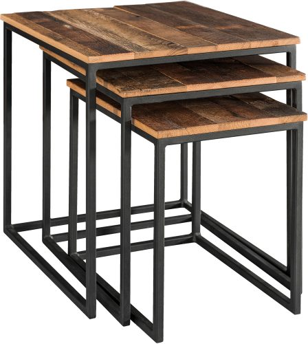 Amish Haven Stackable End Table Set