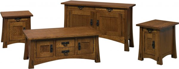 Amish Modesto Occasional Table Collection