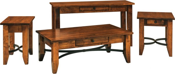 Amish Unity Occasional Table Set