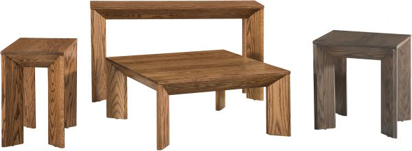 Amish Witmer Occasional Table Set