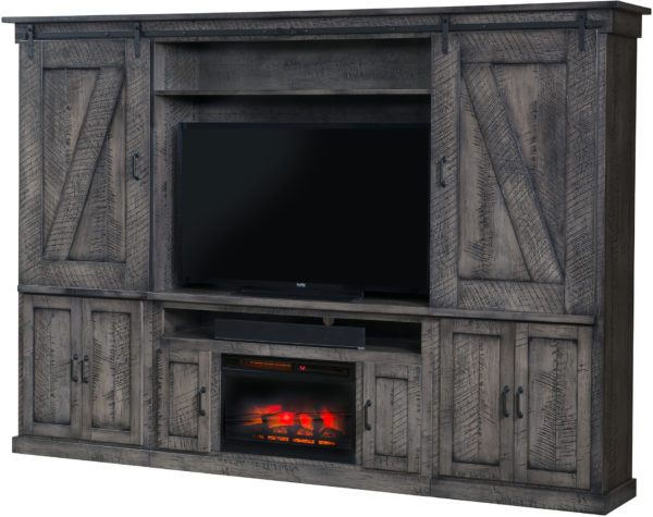 Amish Durango Fireplace Entertainment Center