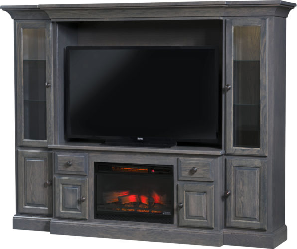 Amish Kincade Fireplace Entertainment Center