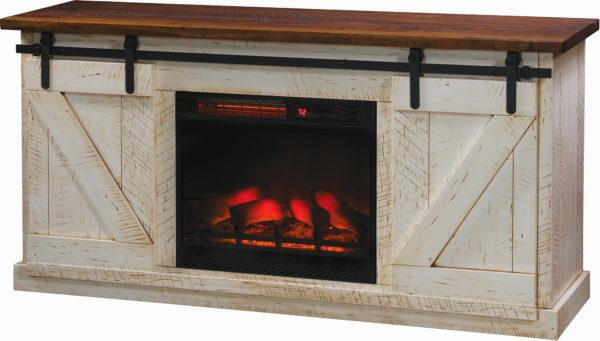 Amish Durango Fireplace TV Stand
