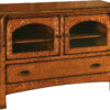 Amish Breckenridge TV Cabinet with Two Doors