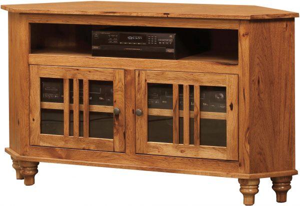 Amish Harvest Corner TV Cabinet