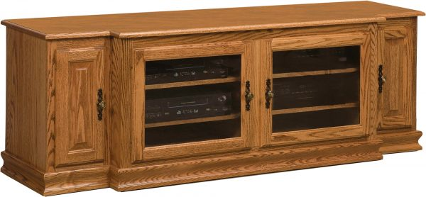 Amish Heritage Large 4 Door TV Stand