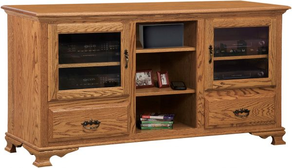 Amish Heritage Open TV Cabinet