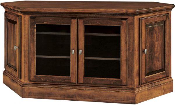 Amish Kincade Corner TV Stand