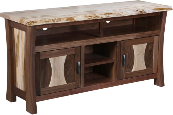 Amish Legacy Live Edge TV Cabinet