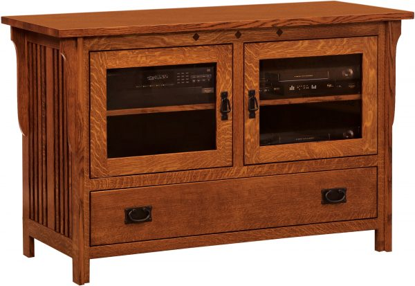 Amish Straight Royal Mission TV Stand