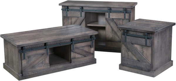 Amish Durango Occasional Table Set