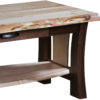 Amish Legacy Live Edge Coffee Table Detail View