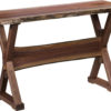 Amish Remington Live Edge Sofa Table