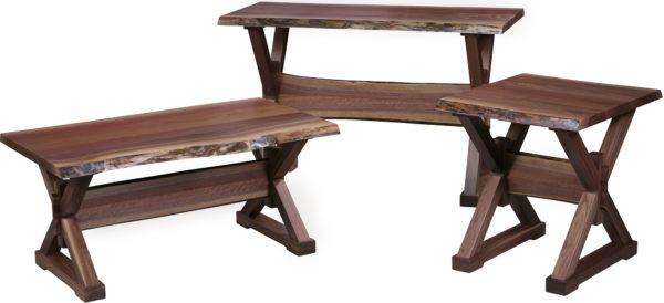 Amish Remington Occasional Table Set