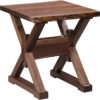 Amish Remington Live Edge End Table