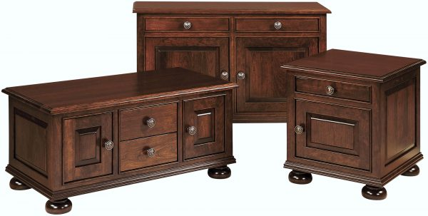 Amish Rosemont Occasional Table Collection
