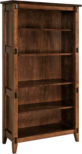 Amish Bungalow 65 Inch Bookcase